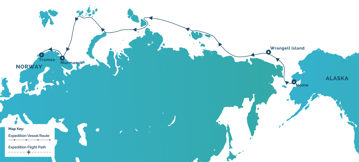Iex   alaska to norway