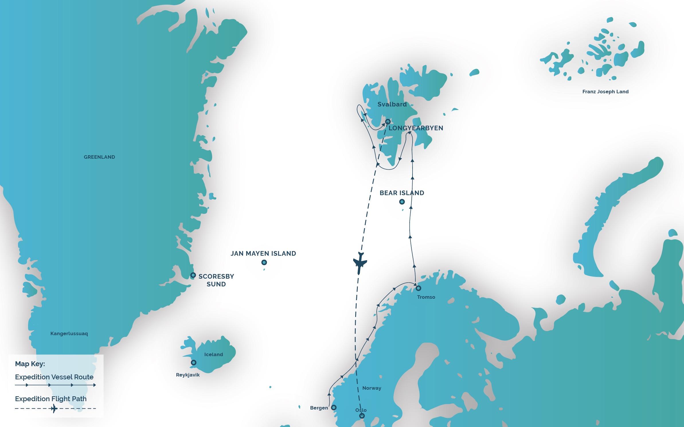 Lindblad explorer norway svalbard